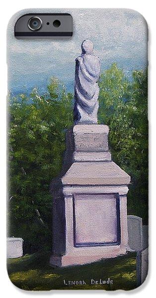 Oakwood Cemetery Jefferson Texas IPhone Case by Lenora  De Lude