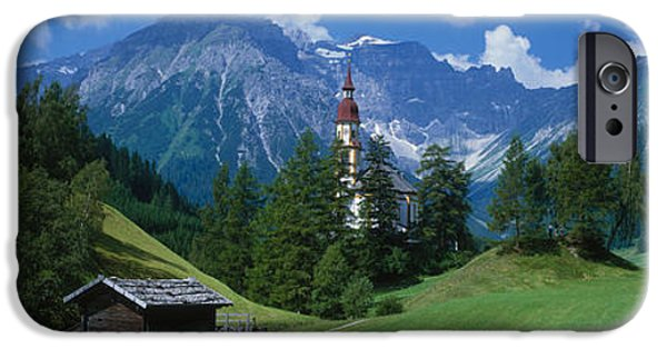 Oberndorf Tirol Austria IPhone Case by Panoramic Images