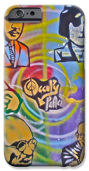 Occupy 4 Peace IPhone Case by Tony B Conscious