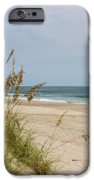 Ocracoke Beach IPhone Case by Kay Pickens