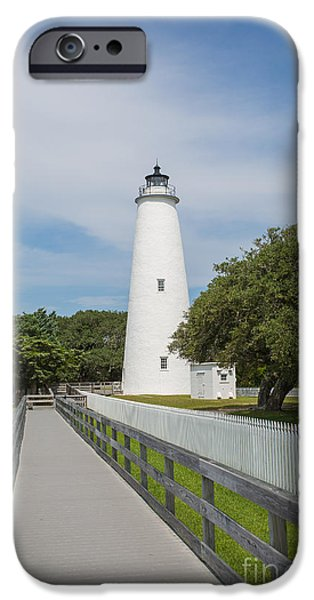 Ocracoke Lighthouse IPhone Case by Kay Pickens