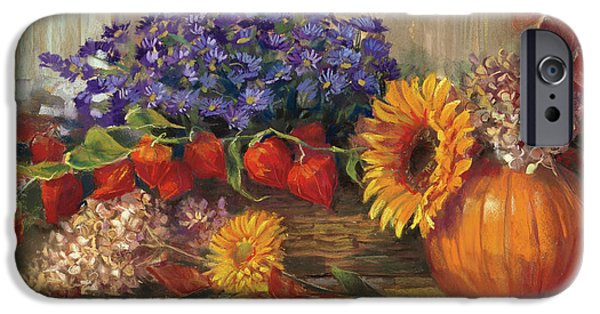 October Still Life IPhone 6s Case by Carol Rowan