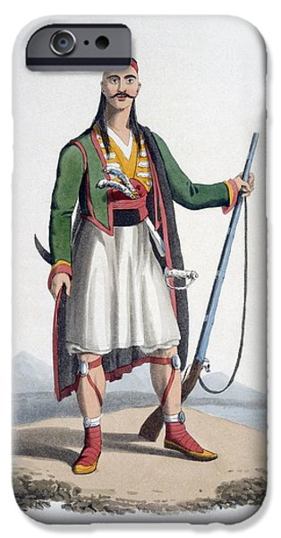Officer Of The Spahis, 1818 IPhone Case by English School