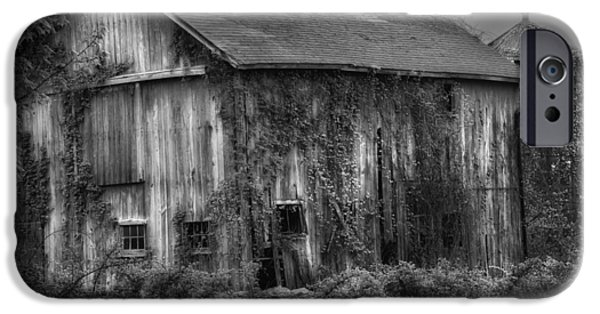 Old Barn IPhone Case by Bill Wakeley