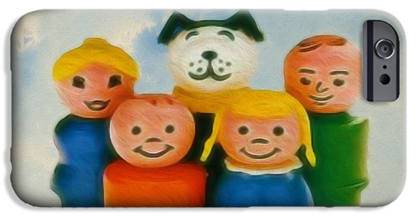 Old Friends  IPhone Case by Cheryl Young