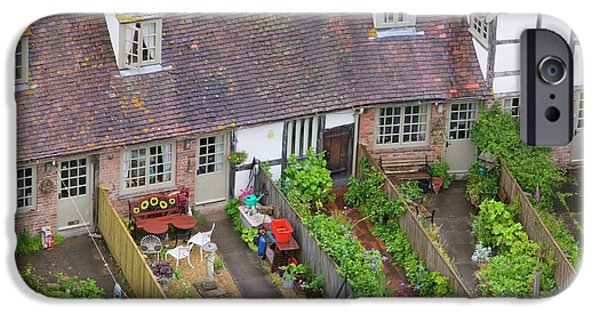 Old Houses And Back Gardens IPhone Case by Ashley Cooper