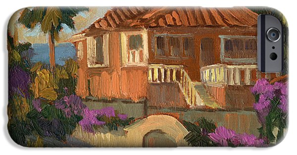 Old Mansion Costa Del Sol IPhone Case by Diane McClary