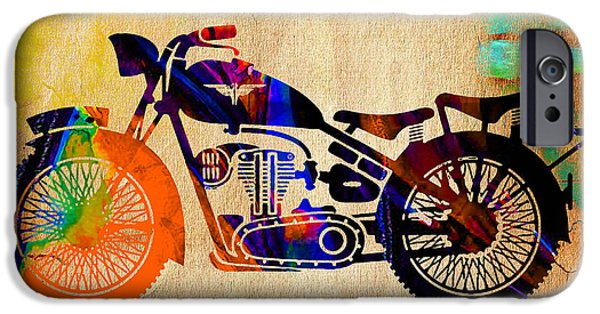 Old Motorbike IPhone 6s Case by Marvin Blaine