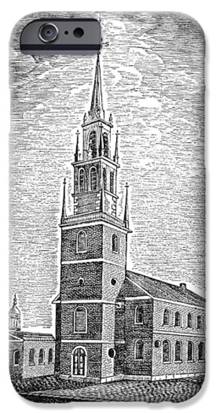 Old North Church, 1775 IPhone Case by Granger