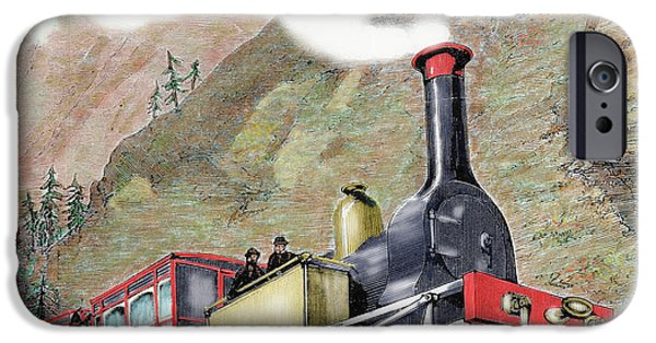 Old Railway, Usa IPhone Case by Prisma Archivo