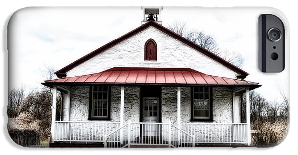 Old Schoolhouse Chester Springs IPhone Case by Bill Cannon