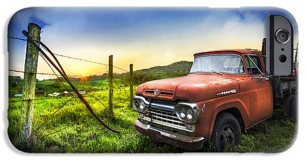 Old Tow Truck IPhone Case by Debra and Dave Vanderlaan