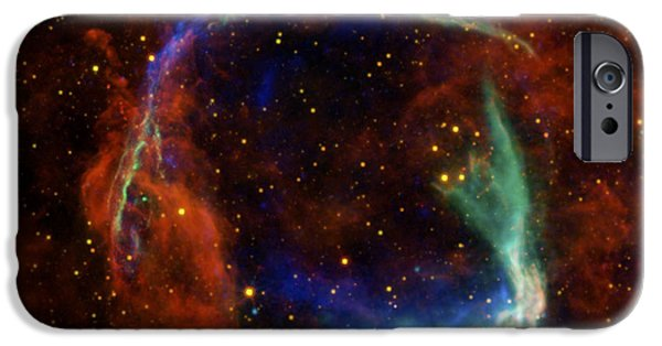 Oldest Recorded Supernova IPhone Case by Adam Romanowicz