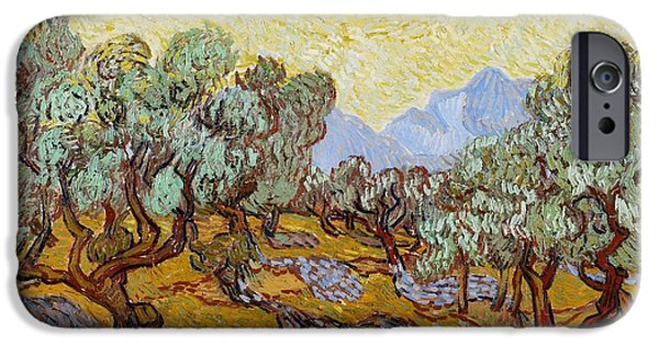 Olive Trees IPhone Case by Vincent Van Gogh