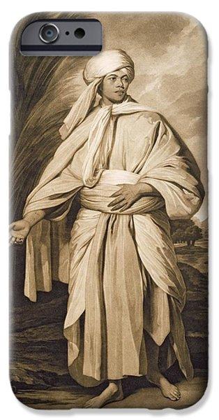 Omai, Engraved By John Jacobe, 1777 Mezzotint IPhone Case by Sir Joshua Reynolds