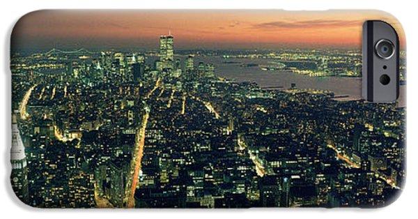 On Top Of The City IPhone Case by Jon Neidert