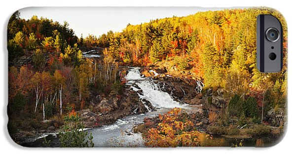 Onaping Falls IPhone Case by Tanya Harrison