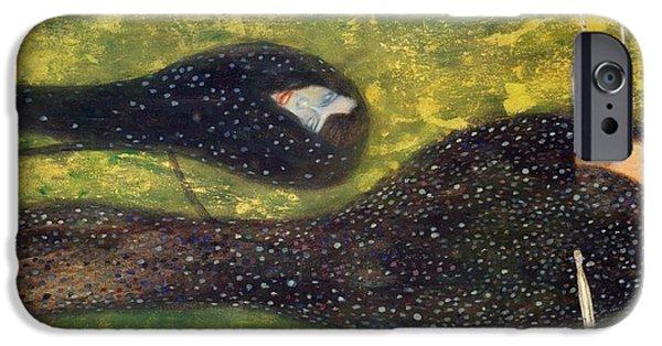 Ondine IPhone Case by Gustav Klimt