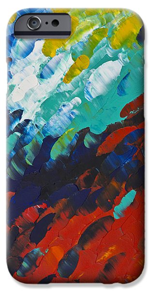 Only Till Eternity 1st Panel IPhone Case by Sharon Cummings