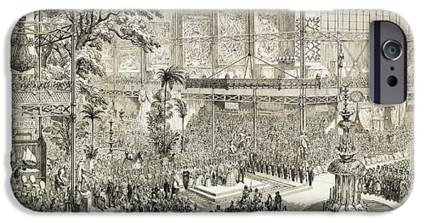 Opening Of The Great Exhibition Of 1851 IPhone Case by Library Of Congress