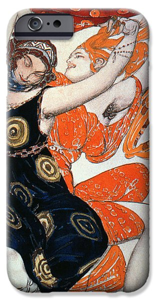Operatic Costume Designs, 1911 Colour Litho IPhone Case by Leon Bakst