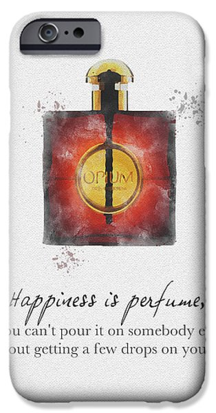 Opium IPhone Case by Rebecca Jenkins