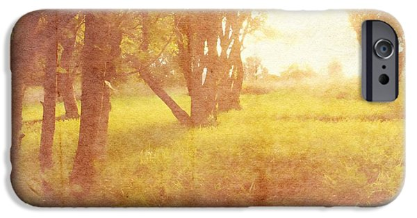 Orchard View IPhone Case by Brett Pfister