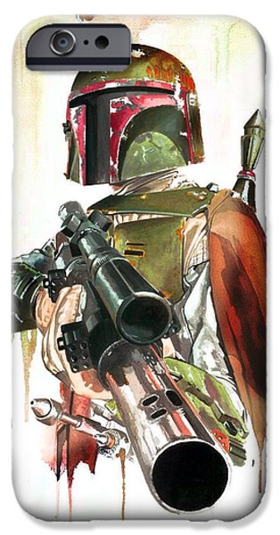 Original Bounty Hunter IPhone Case by Christina Perry