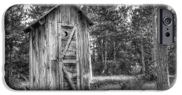 Outdoor Plumbing IPhone Case by Scott Norris