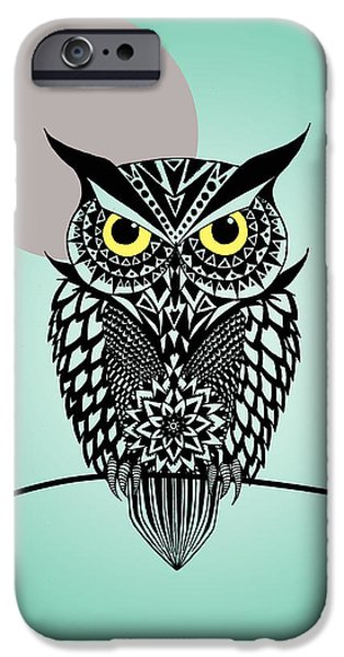 Owl 5 IPhone 6s Case by Mark Ashkenazi