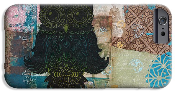 Owl Of Wisdom IPhone Case by Kyle Wood