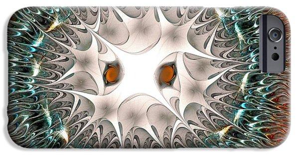 Owl Spirit IPhone Case by Anastasiya Malakhova