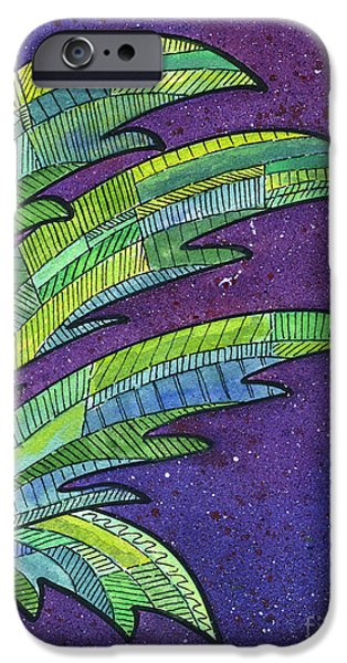 Palms Against The Night Sky IPhone 6s Case by Diane Thornton