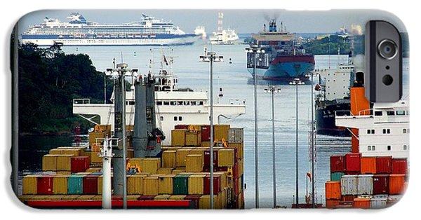 Panama Express IPhone Case by Karen Wiles