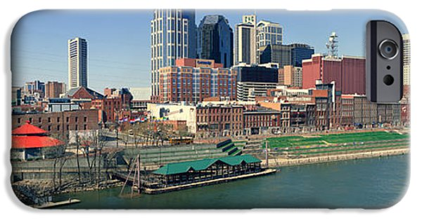 Panoramic Morning View Of Cumberland IPhone Case by Panoramic Images
