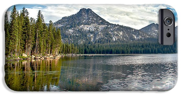 Panoramic View Of Anthony Lake IPhone Case by Robert Bales