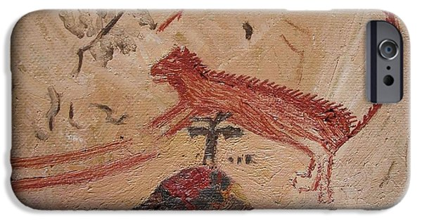 Panther From Panther Cave IPhone Case by Vera  Smith