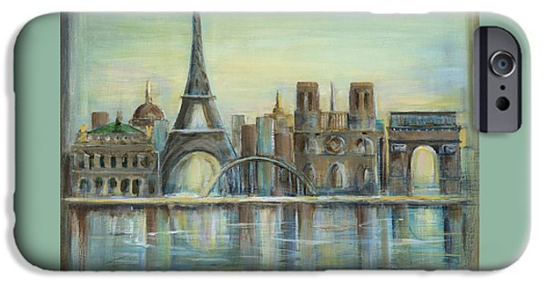 Paris Highlights IPhone 6s Case by Marilyn Dunlap