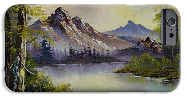Pastel Skies IPhone Case by C Steele