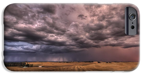 Path To The Storm IPhone Case by Mark Kiver