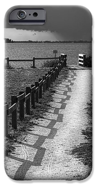 Pathway To The Beach IPhone Case by Marvin Spates