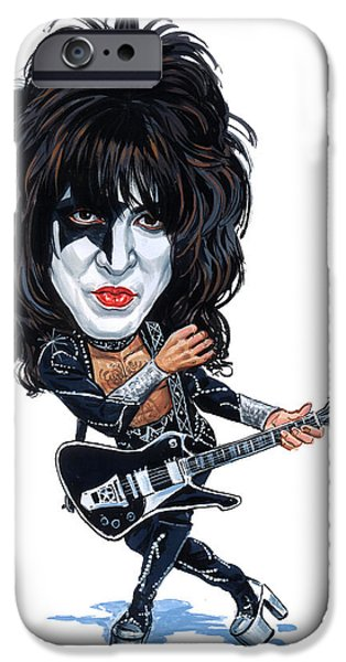 Paul Stanley IPhone Case by Art