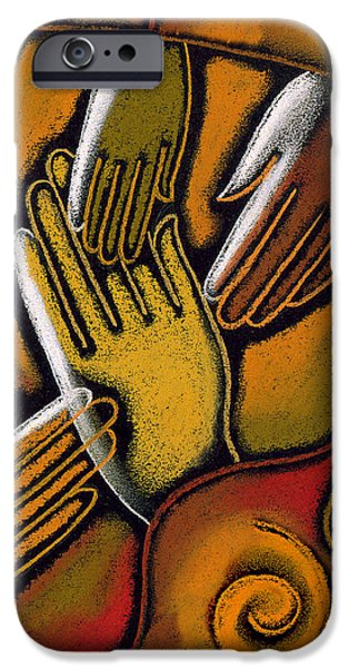 Peace IPhone Case by Leon Zernitsky