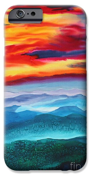 Peaceful Valley's IPhone Case by Anderson R Moore