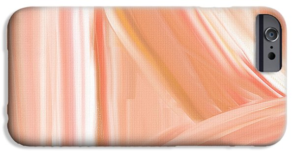 Peach Accent IPhone 6s Case by Lourry Legarde