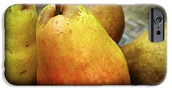 Pears In A Basket IPhone Case by Elena Elisseeva