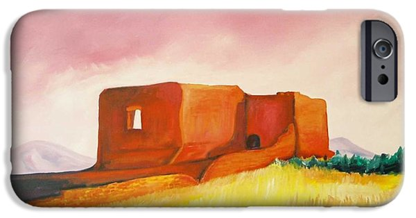 Pecos Mission Nm IPhone Case by Eric  Schiabor