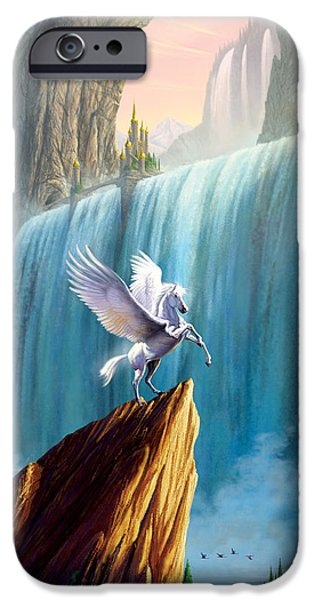 Pegasus Kingdom IPhone 6s Case by Garry Walton