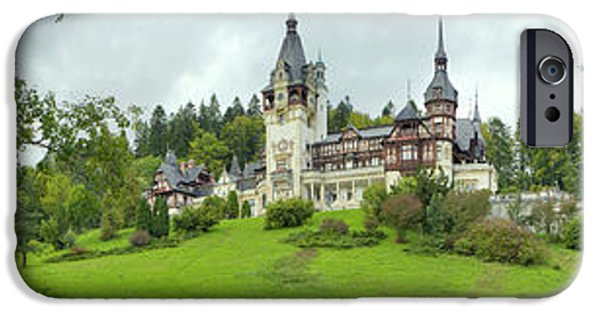 Peles Castle In The Carpathian IPhone 6s Case by Panoramic Images