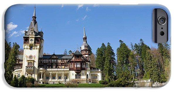 Peles Castle, Sinaia, Carpathian IPhone 6s Case by Martin Zwick